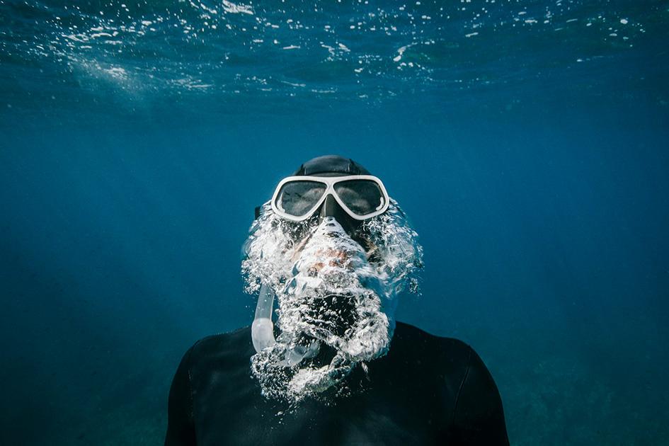 Diving in Yanchep | acu cap blog diving