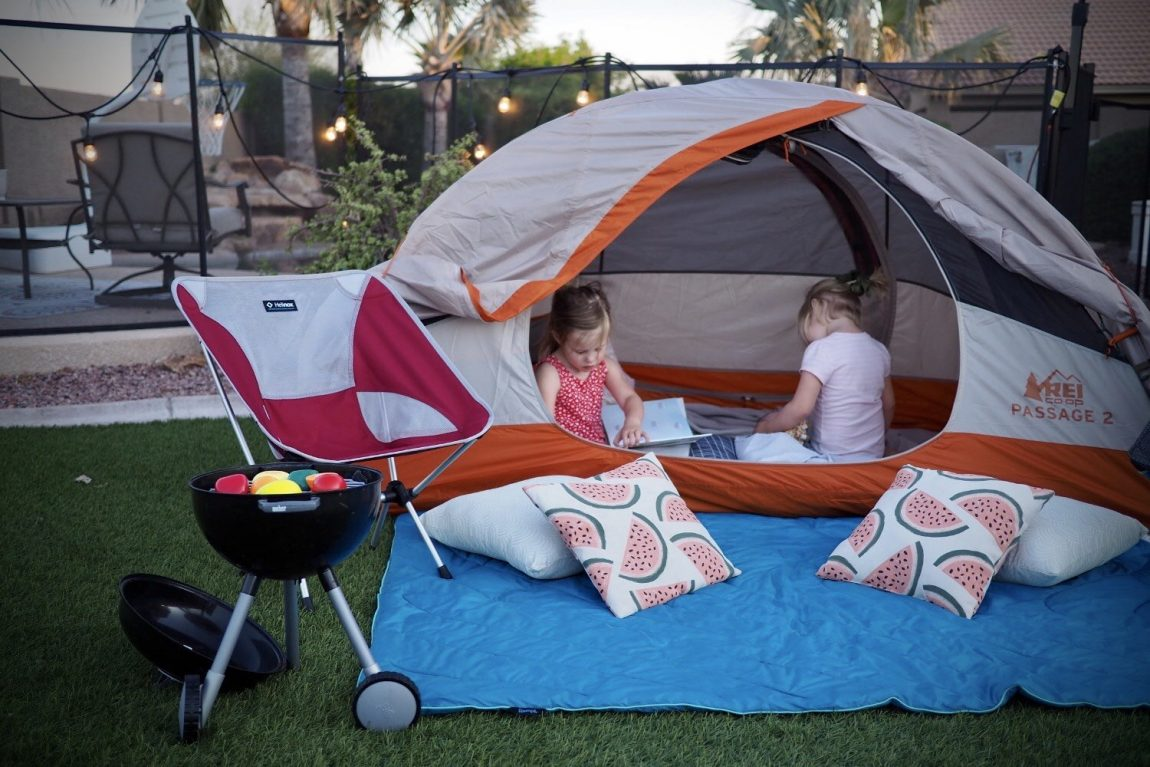 Our top picks of things to do at home at Capricorn Beach, Yanchep! | backyard camping ideas